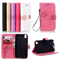 """Alcatel idol 4S Leather Stand Wallet Phone Case For Alcatel One Touch Idol 4 6055 6055B/I/K/Y/H 5.2"""" Printing Flower Flip Cover"""