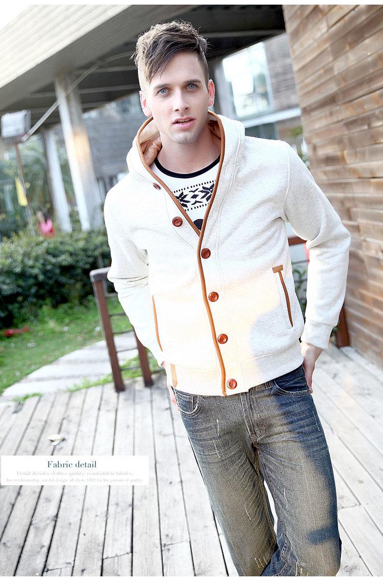 Mwxsd marca para hombre otoño sudaderas con capucha para hombres - Ropa de hombre - foto 2