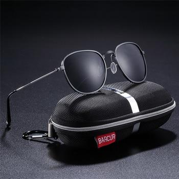 bd349cfb0d Gafas de sol polarizadas para hombre, nuevas gafas de sol de aluminio  hexagonales, gafas de sol para mujer, gafas de sol masculinas