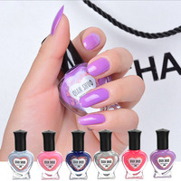 20pcs/lot Nail Polish Nail Candy Color Enamel Water Based Nail Varnish Cheap Peel Off Manicure Art Accessories