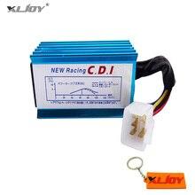 XLJOY Màu Xanh Racing AC CDI Đánh Lửa Box 5 pins Cho 50cc 110cc 125cc ATV Quad Pit Dirt Xe Đạp Đi Kart xe máy Xe Tay Ga Xe Máy