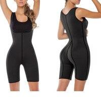HOT Shapers Sauna Sweat Corsets Women Neoprene Slimming Waist Body Shaper Fat Burn Bodysuits Belly Reduce