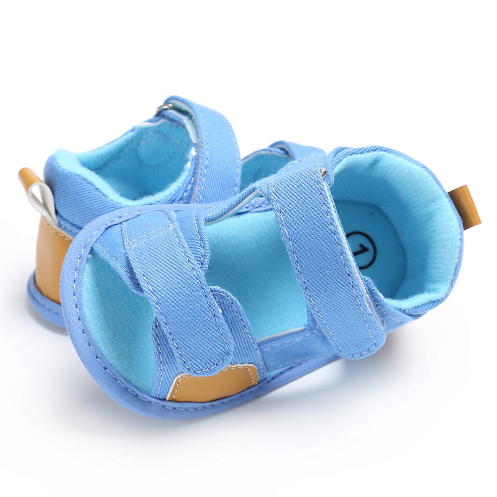 Summer 2018 Kids Baby Boys Sandals Canvas Children Sandals For Boys comfortable Toddler Shoes Breathable Sandals Fashion