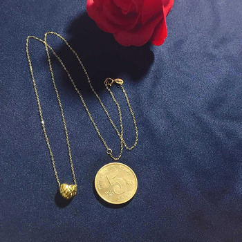 Jewelry 24K gold   3D/999% gold Necklac Wedding gifts HI007 2