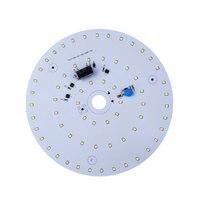 2pcs 28W AC220V Ceiling Lamp LED Ring Panel Lights Cold White Living Room