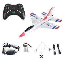 FX-823 2,4G 2CH RC самолет планер дистанционного управления Самолет открытый летающий самолет