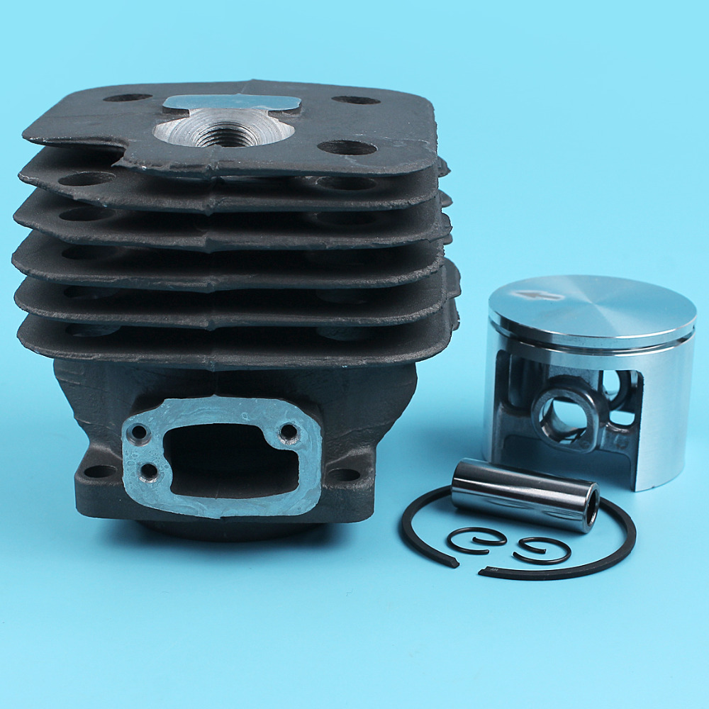 52MM Cylinder Piston Pin Ring Kit For HUSQVARNA 266 266SE 266XP Chainsaw Replacement Parts