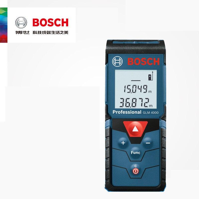 BOSCH GLM4000  Measuring Laser Ruler  40m Dust-proof And Waterproof Measuring Instrument  Handheld Infrared Laser Range Finder