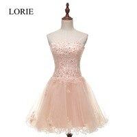 Plus Size Senza Spalline Breve Prom Dresses 2016 Immagine Reale Vestido Formatura Curto Lace Up Tulle Molle Adolescenti Abiti Da Cocktail Partito