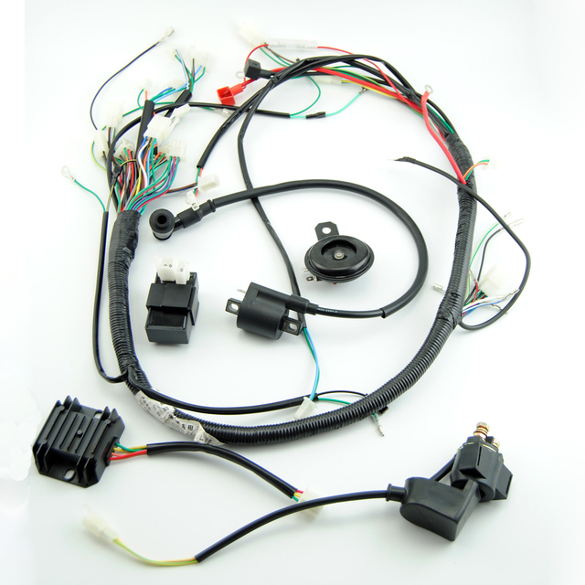 Phenomenal Zongshen Loncin Lifan 150Cc Atv Gy6 Quad Full Electric Parts Wire Wiring 101 Kniepimsautoservicenl