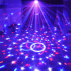 Tanbaby AC110 240V Sound Control Crystal Magic Ball DMX Stage Light For Disco Club DJ Bar