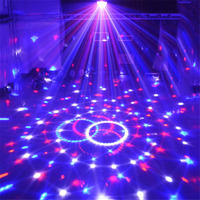 Tanbaby AC110 240V Sound Control Crystal Magic Ball DMX Stage Light For Disco Club DJ Bar