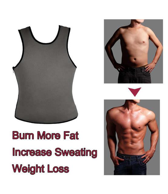 ce53d8f987e22 placeholder NINGMI Hot Shapers Mens Fat Compression Slim Shirts Mans Neoprene  Sweat Sauna Vest Waist Trainer Workout