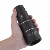 16x52 Compact Monocular Zoom Telescópio de Alta Definição Revestimento de Lentes Ópticas Para Caça Camping Âmbito Vigilância Novo