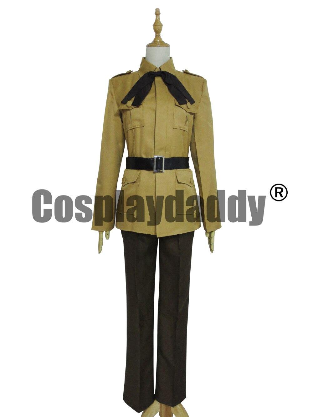Здесь продается  Axis Powers Hetalia APH Spain Military Uniform Suit Cosplay Costume  Одежда и аксессуары