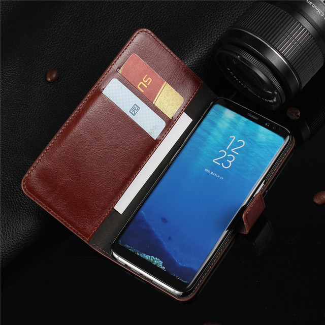For A3 A5 A7 J3 J5 J7 2016 2017 Case Leather Flip Wallet Cover for Samsung Galaxy S8 Plus S6 S7 Edge S5 S4 S3 Grand Prime Coque 1