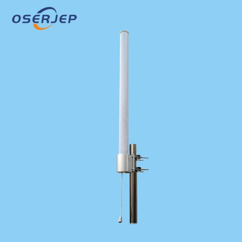 700 3500MHz High Gain High Frequency Rang fiberglass Omni Antenna 2G 2 4G CDMA800 GSM900 3G