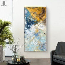 Personalized Abstract Canvas Printing Modern Posters Different Color Mixed Up Decorative Paintings For Home Decoration Picture wall art abstract canvas printing modern posters gorgeous lotus leaf lotus root in lake decorative paintings for home decoration