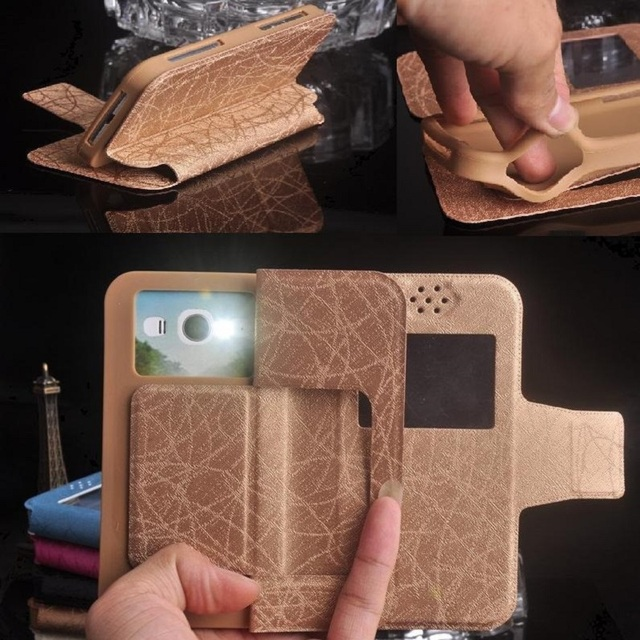 BLU Studio M HD Case, 2017 New Fashion Luxury Flip Pu Leather Silicon Phone Cases for BLU Studio M HD Free Shipping