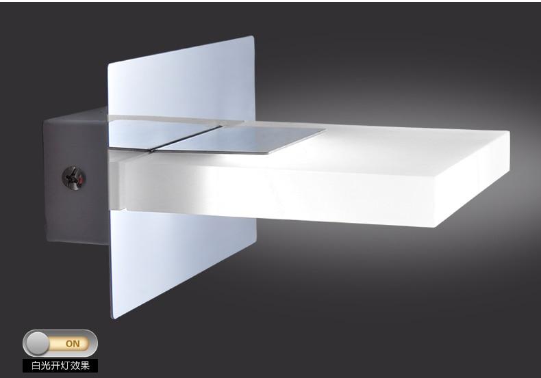 Sierstrip Chroom Badkamer : Moderne led wall armaturen badkamer acryl led spiegel licht