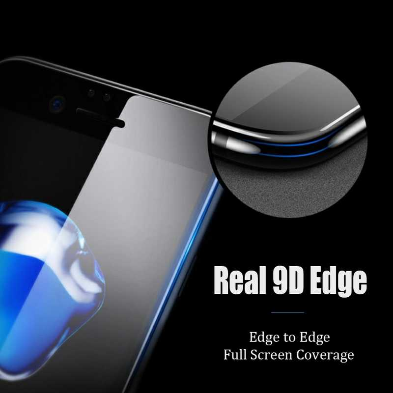 TeoYall 9D Full Edge Tempered Glass on for Huawei honor 7A Pro Glass Protective Film for honor 9i 9N Maimang 7 Screen Protector