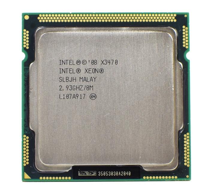 Xeon X3470 Processor 8M Cache 2.93 GHz SLBJH LGA1156 CPU