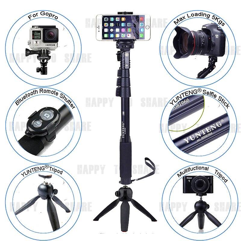 """Monopod Bluetooth Remote 18-50 """"Self-Portrait Stick + Držák na stativ telefon pro iPhone 7 6S PLUS 10 8 6S pro Galaxy NOTE 8 S7 S6 S8"""