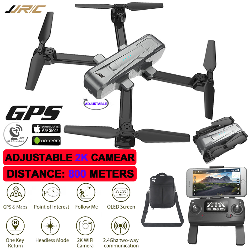 Drone GPS 800 Meter Distance 2K Adjustable Camera Global Positioning Quadrocopter Helicopter Professional Quadcopter With Camera