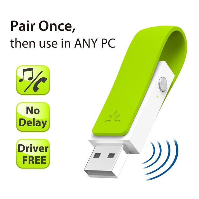 Avantree Baixa Latência Driver Livre Plug & Play USB Bluetooth Áudio Transmissor Adaptador para TODOS OS PC com Fones de Ouvido Alto-falantes sem fio