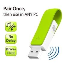 Avantree Niedrige Latenz Driver Free Plug & Play Bluetooth USB Audio Transmitter für ALLE PC mit drahtlose Kopfhörer Lautsprecher