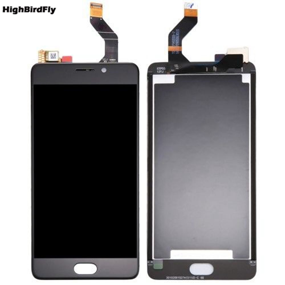 5.5 Highbirdfly For Meizu M6 Note M721H M721Q M721W Lcd Screen Display With Touch Screen Digitizer Glass frame FUll set