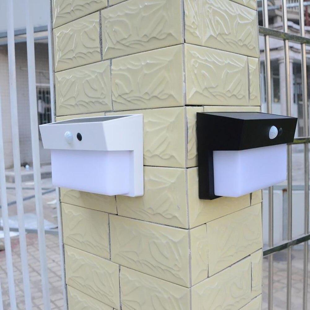 Human Body Infrared Sensor and Light Sensor Solar Lamp 50 LED Waterproof Induction Wall Lamp Outdoor Yard Street Garden Light