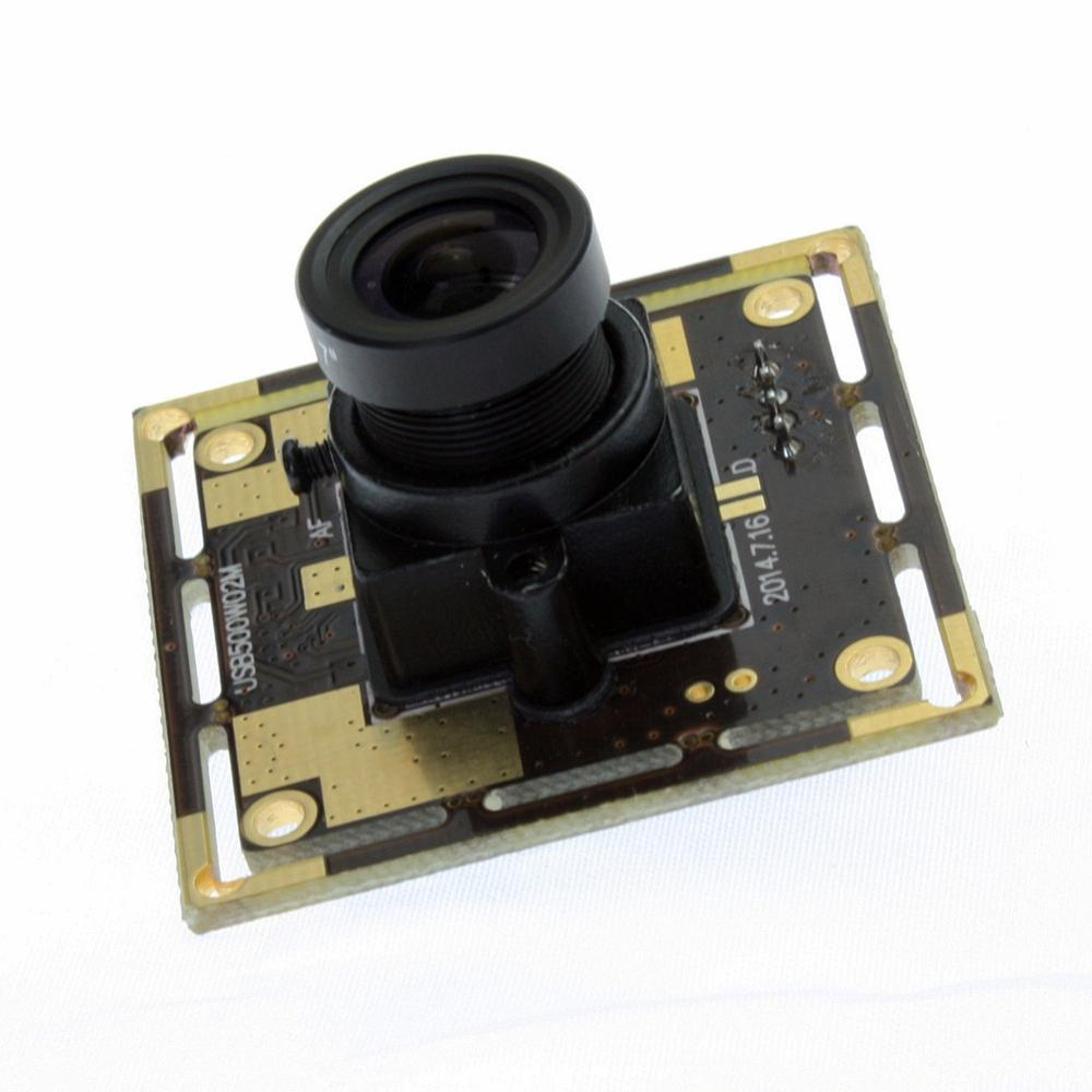 5MP Haute Définition CMOS OV5640 Petit USB Module de Caméra avec 2.8mm lentille pour la Capture de Documents