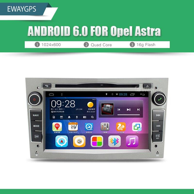 imágenes para Android 6.0 Quad Core Coches Reproductor de DVD Estéreo del GPS bluetooth Wifi Radio Para Opel ASTRA VECTRA ZAFIRA ANTARA CORSA MERIVA EW870P6QH