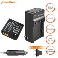 1X CGA-S005E S005 Rechargeable Battery+Charger for Panasonic Lumix DMC-LX1 LX2 LX3 FX3 DMW-BCC12 For FUJI NP-70 DB60 DLI106 L15 цена