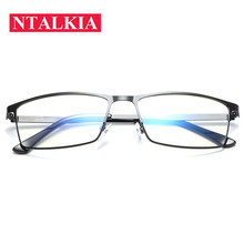blue light glasses Women men Transparent Computer Anti Blue Rays Square eyeglasses frame female male reading eyewear Optical