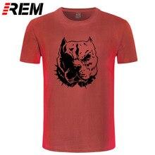 Organic Cotton pitbull Men t-shirt High Quality New Style Men t shirts