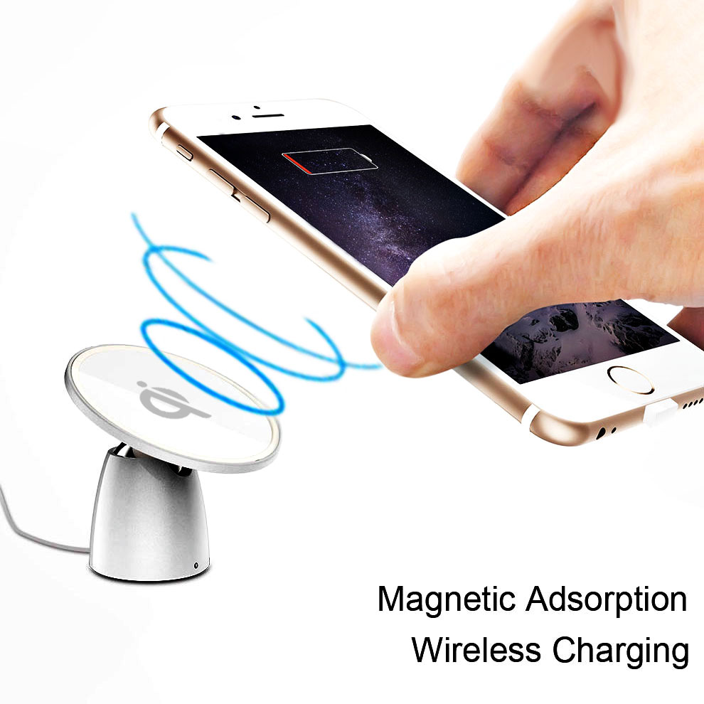 Magnetic car phone holder wireless charger 4