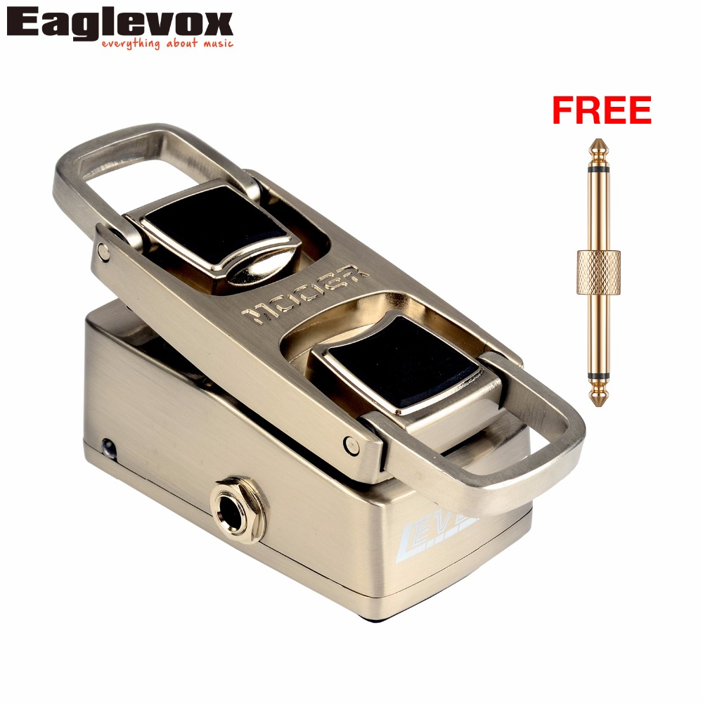 Mooer Leveline Volume Pedal  Electric Guitar Bass Effect Pedal WVP1 with Free Connector and Footswitch Topper mooer blade boost guitar effect pedal electric guitar effects true bypass with free connector and footswitch topper