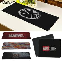 MaiYaCa New Arrivals Marvel Comics logo Beautiful Anime Mouse Mat Size for 180*220 200*250 250*290 300*800 and 300*900*2mm