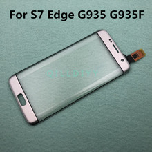 S7Edge Touch Screen Tp Kabel Voor Samsung Galaxy S7 Rand G935 G935F G935FD Touch Sensor Glas Lens Panel Vervanging