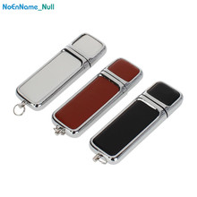new high-ranking leather USB 2.0 Flash Memory 128gb Metal pendrive 4GB 8GB 16GB 64GB Creative flash Drive 32gb Company Gifts