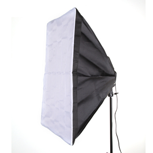 "Image 1 - 50 x 70cm 20x28"" Softbox Studio Photography For 4 in 1 Socket E27 Light Lamp Bulb"