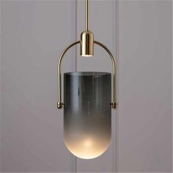 Lámpara colgante de madera con luz colgante moderna, luces ...