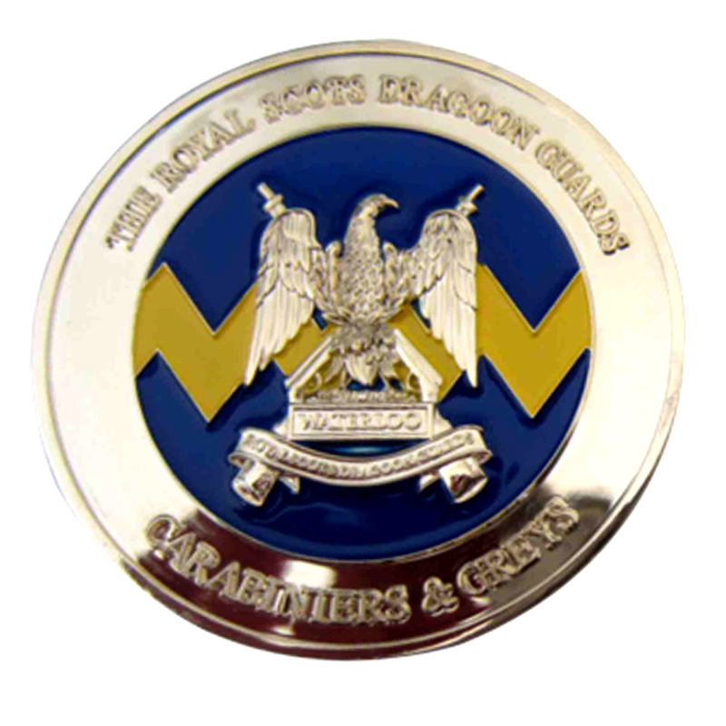 Chinese manufacturer custom logo commemorating Enamel coin military 3D
