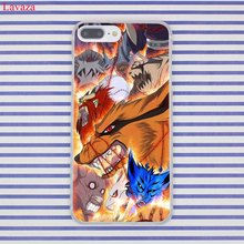 Naruto's Phone covers for iPhone 8 7 6 6S Plus X 10 5 5S SE 5C 4 4S