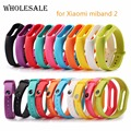 Silicone Replace Belt Strap For Xiaomi Mi Band 2 Smart Wristband Band Bracelet For MI Smart Wristband 2