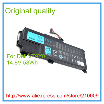 58WH Original Laptop Battery For  XPS 14Z-L412X 14Z-L412Z V79Y0 YMYF6 0YMYF6