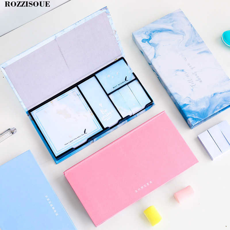 480 Pages Cute Post It Kawaii Memo Pad Sticky Notes Stationery Sticker Planner Memo Stickers Notepads Office School Supplies