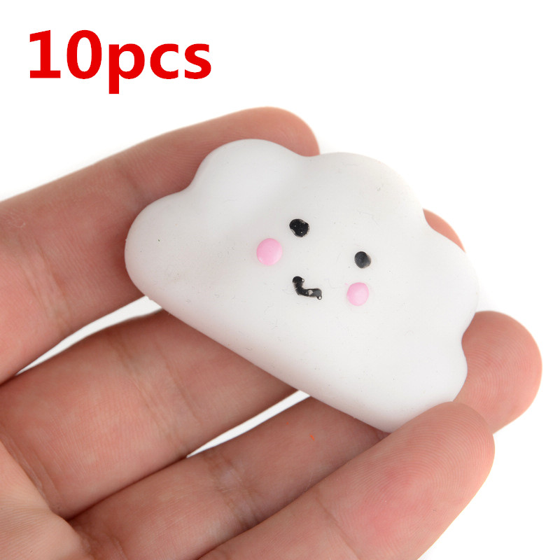 Mini Small Cloud Soft Slow Rising Squeeze Press Slow Rising Phone Strap Bread Cake Kid Healing Toy Bag Accessories Cute Bag Parts & Accessories
